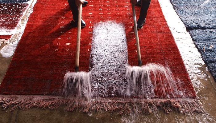 lavaggio tappeto persiano