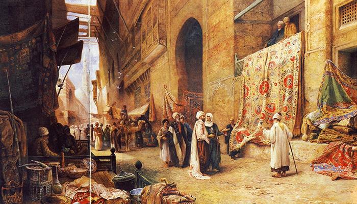 Mercato dei tappeti