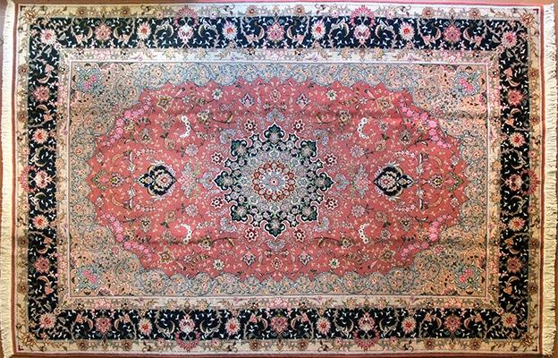 tappeto tabriz extra fine