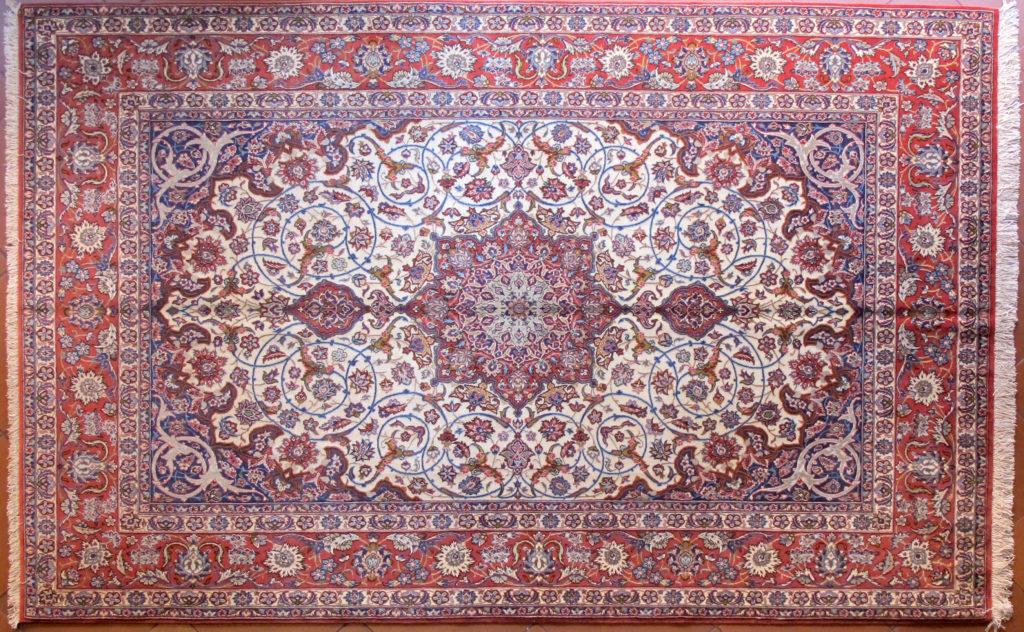 acquistare un tappeto  isfahan extra fine