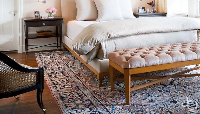 tappeto orientale camera da letto