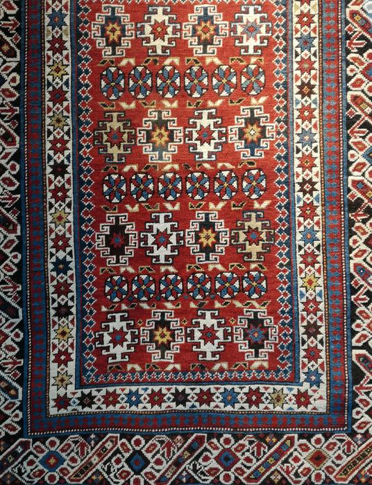 tappeto cici annodato a mano antico