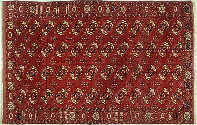 tappeto Bukhara antico