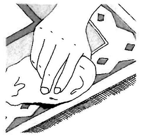 assorbire macchie tappeti