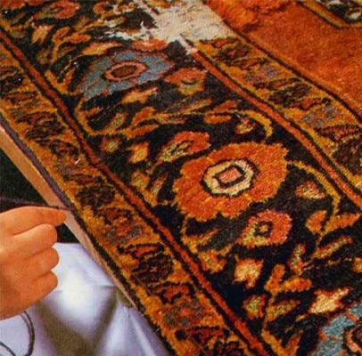 restauro bordo tappeto
