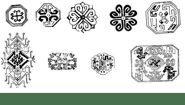 simbologia medaglioni caucasici